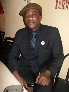 George Ebai. Immigration and Human Rights Officer, African Movement