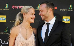 Pistoris and Reeva. The good old days