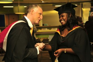 Victorine Graduates with honours