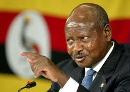 Yoweri Museveni. Grooming son to succeed him?