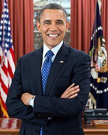 President Barack Obama. Is that a genuine African smile?