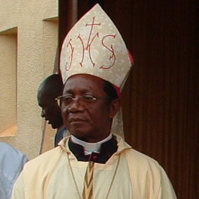 Archbishop Victor Bakot. Too tired to continue pastoral duties