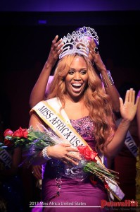 Kathy Onwu. USA African Queen 2013