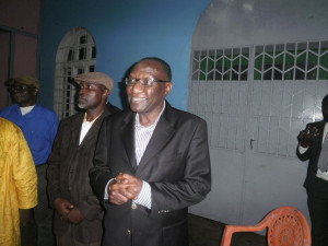 Prof Ngwafor. Easily floored his much younger opponent Barrister Kameni