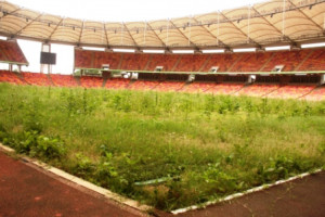 The abandoned Stadia in Abuja