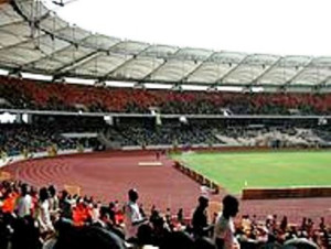 Abuja Stadium in 2011 when The Eagles clashed with Guinea National team