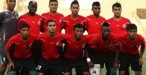Libyan National team. Can upset weak Lion team even n Its den in Yaounde