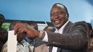 Uhuru Kenyatta. Will he rule Kenya through Skype from The Hague?