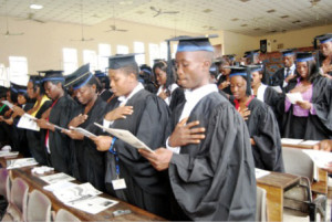 Many students graduates years after schedule because of strikes