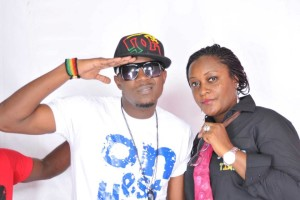 Stanley Enow salutes fans