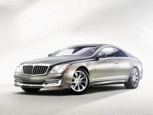 Maybach Xenatec Coupe worth around £750,000