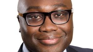 The smiling Komla Dumor. Now telling God the story of Africa