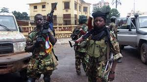 seleka rebels terrorise inhabitants of the capital Bangui