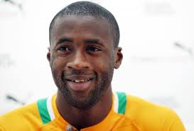 Yaya Toure. Hat trick of CAF awards