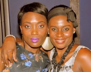 Cynthia Tabe (L) Revolutionizing he Cameroon music industry