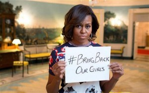 US first Lady joins fight to rescue kidnapped Chinok girls