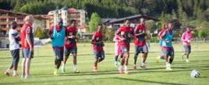 Lions train for world cup