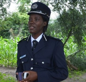 Police Spokesperson Charity Munganga-Chanda