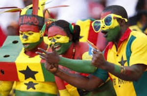 Some Ghana football supporters in Brazil now want to score personal goals