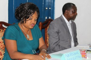 Chitoh Judith Ndekeh. . Small and Medium sized official opens workshop